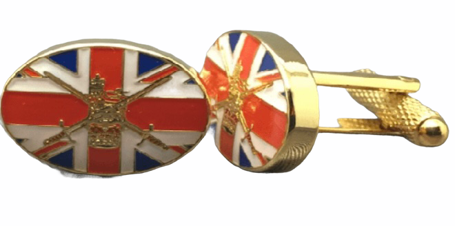 British Army Union Jack  Cufflinks