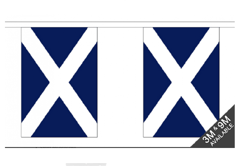 Bunting - St Andrews Flags (30 flags in total)