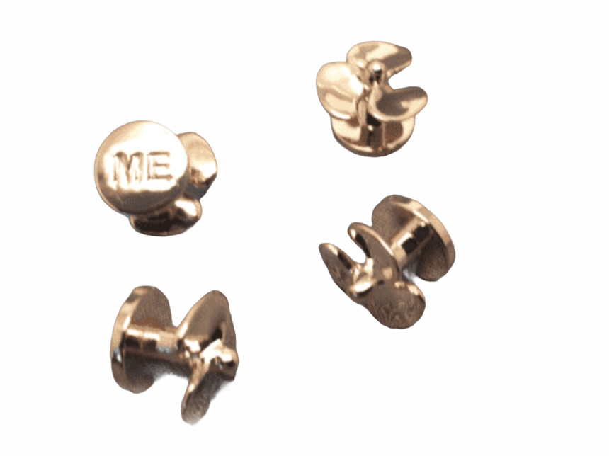 ME Four Shirt Studs (Rose Gold)