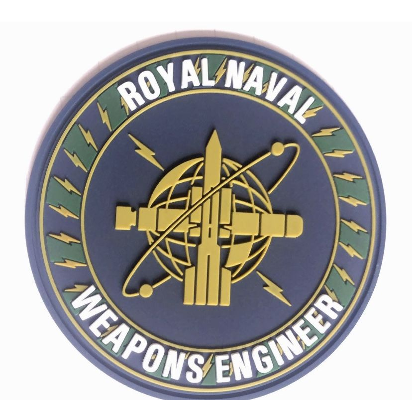 Weapons Engineers PVC / Rubber Patch (with Velcro-back)