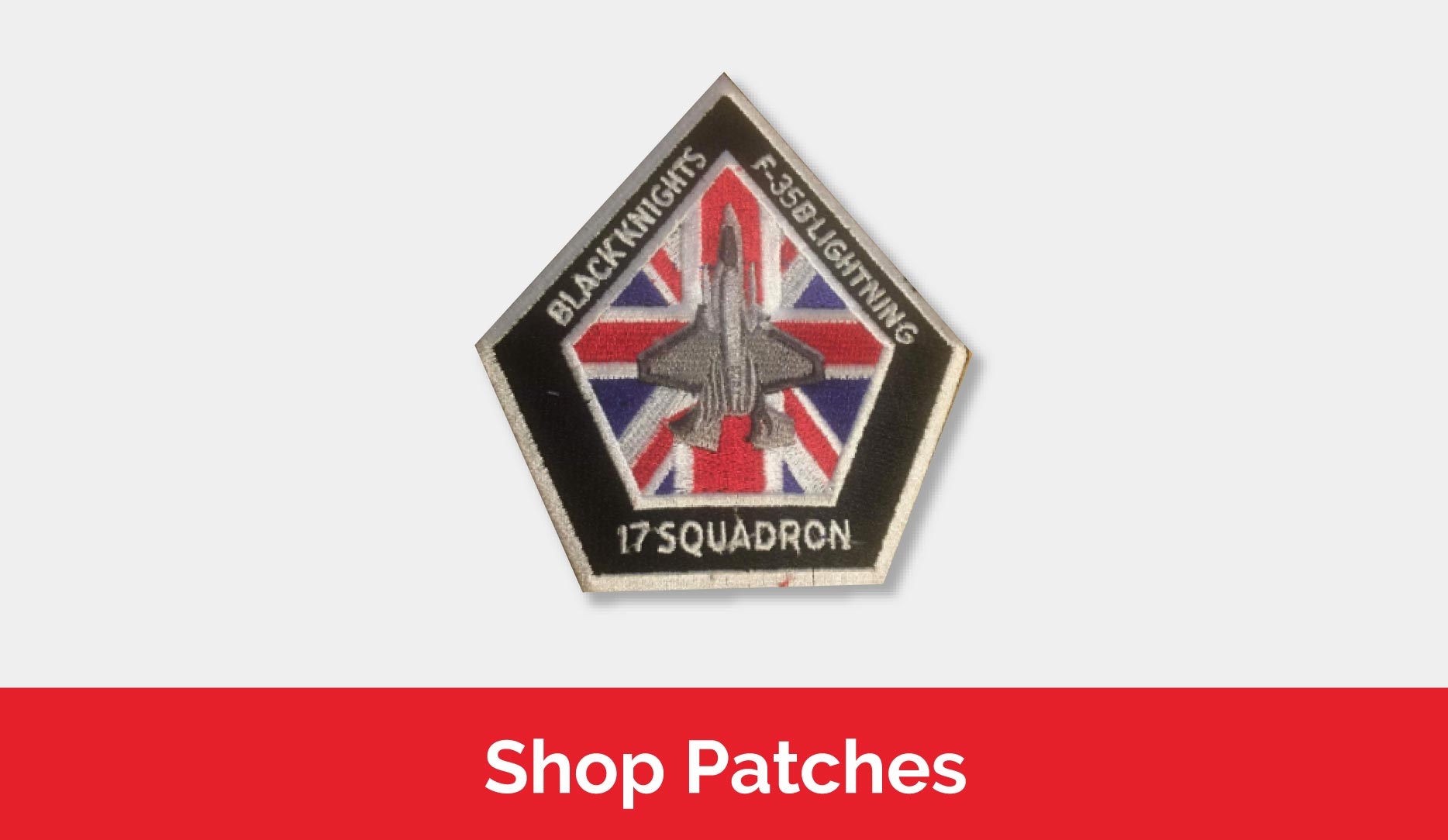 Shop patches and badges